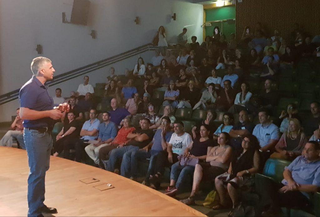 בני מבורך לוי מייסד המסודרים בהרצאה